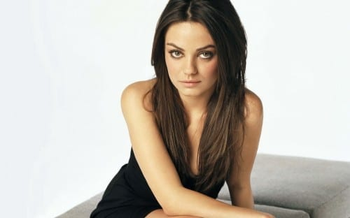 Mila Kunis - sexiest hollywood actresses