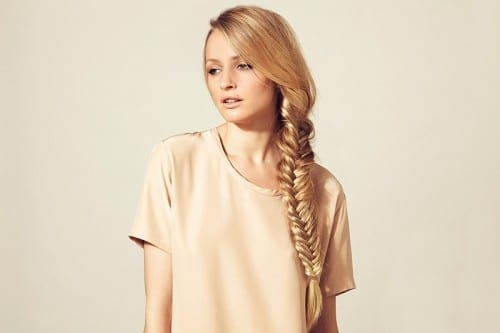 Most Beautiful Hairstyles For Women - Foxy fishtail Braid