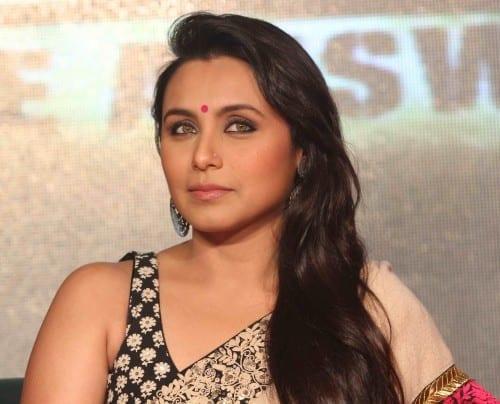 Most Iconic Bollywood Actresses  - 4. Rani Mukerji