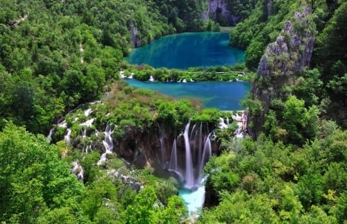 Plitvice Lakes, Croatia - World's most beautiful lake
