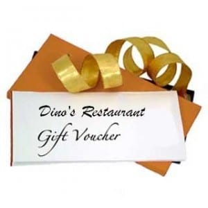 Retirement Gifts Ideas For Men 2018 - Dinner Vouchers
