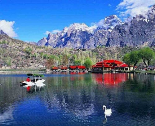 Shangrila Lake, Pakistan - most beautiful lakes