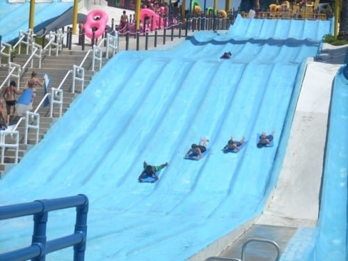 Surf Hill - insane amusement park rides