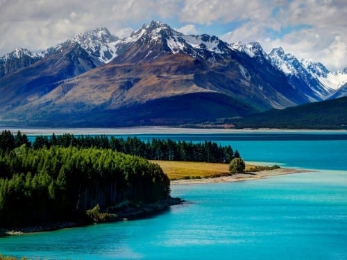 Tekapo Lake, New Zealand - most beautiful lakes