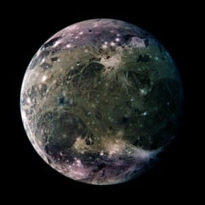 The  Largest Planetary Moon is  Ganymede, Jupiter