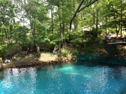 The Tarzan Swing