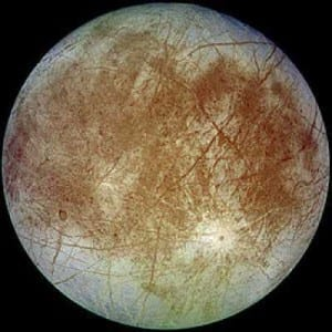 Top 10 Largest Planetary Moons - Europa, Jupiter