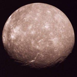 Top 10 Largest Planetary Moons - Titania, Uranus