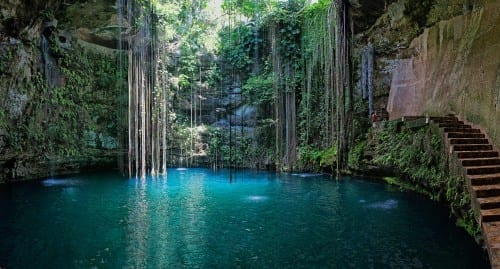 Yucatan Cave Lake, Mexico - 4th most beautiful lake