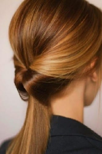 beautiful hairstyles for women 2019 - Twisted Ponytail