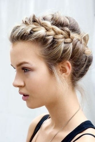 beautiful hairstyles for women 2019 - crown braid
