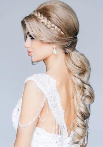 1. elegant brial hairstyle