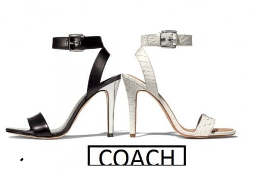 3. Coach - Most Popular Shoe Brands 2018