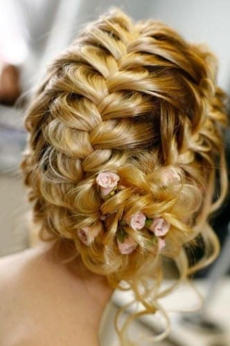 Best Bridal Hairstyles For Women 2014 2014 -  french braid