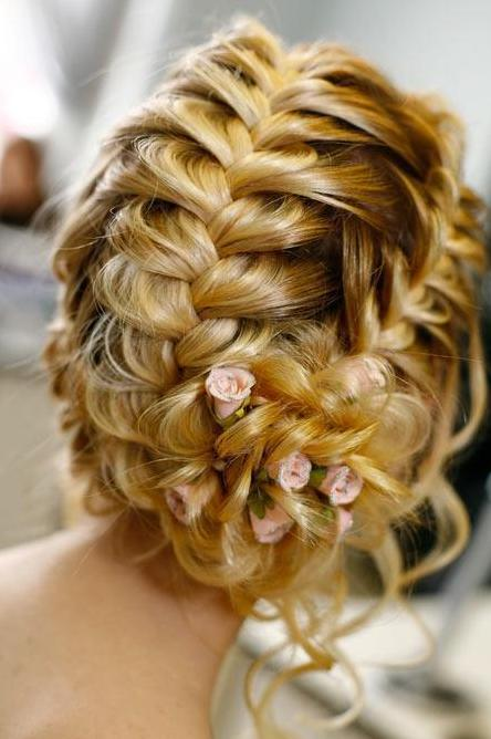 Fabulous Wedding Updos With French Braid Braids Hairstyle Inspiration Daily Dogsangcom