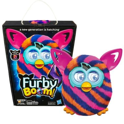 Best Deals Available On Amazon - Furby Diagonal Stripes Boom Plush