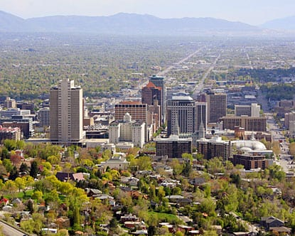 Salt Lake City, Utah- Happiest And Healthiest Cities In America