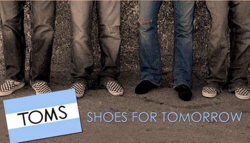 TOMS - Most Popular Shoe Brands 2019