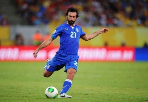 Top 10 Greatest Football Players - Andrea Pirlo