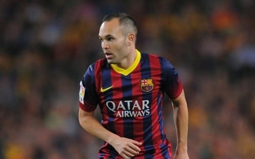 Top 10 Greatest Football Players - Andres Iniesta