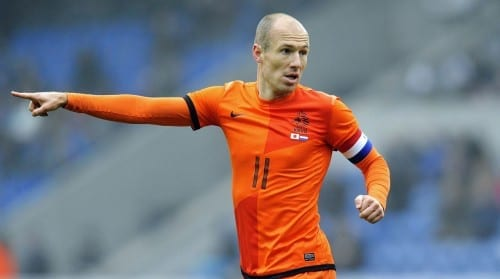 Top 10 Greatest Football Players - Arjen Robben