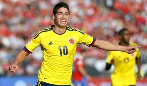 Top 10 Greatest Football Players - James Rodriguez