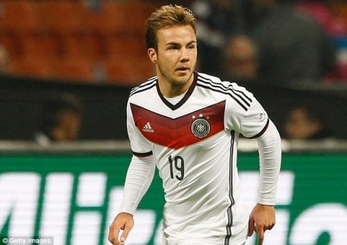 Top 10 Greatest Football Players -  Mario Gotze