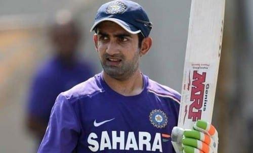 Top 10 Richest Cricketers In 2018 - 8. Gautam Gambhir