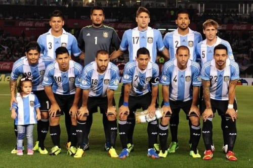 Top 10 fav Teams In Fifa World Cup 2014 - Argentina