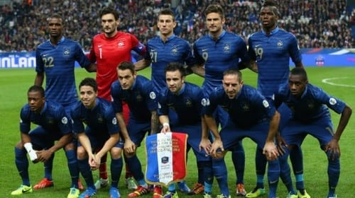 Top 10 fav Teams In Fifa World Cup 2014 - France