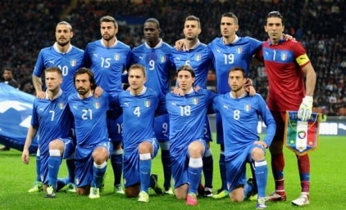 Top 10 fav Teams In Fifa World Cup 2014 - Italy