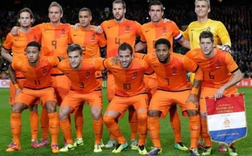 Top 10 fav Teams In Fifa World Cup 2014 - Netherlands