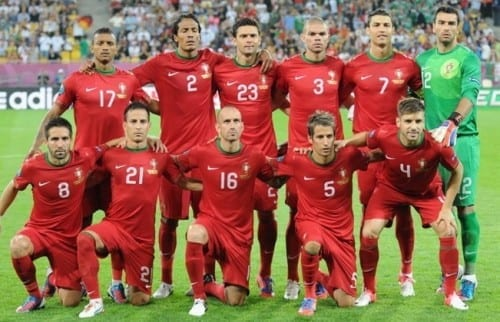 Top 10 fav Teams In Fifa World Cup 2014 - Portugal