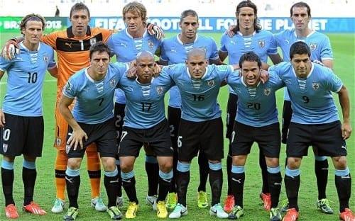 Top 10 fav Teams In Fifa World Cup 2014 - Uruguay