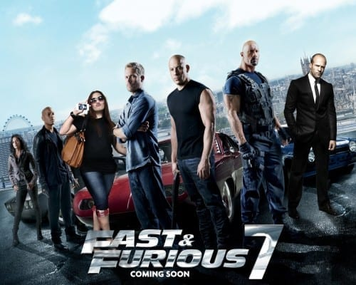 Upcoming Hollywood Movies 2014 -  Fast & Furious 7
