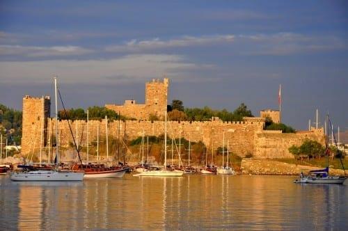 Beautiful Bodrum Castle Turkey