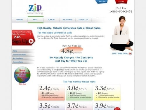 Best Conference Call Providers -  Zip Conferencing