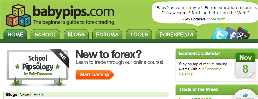 9 Forex Websites That Can Teach You A Thing Or 2
