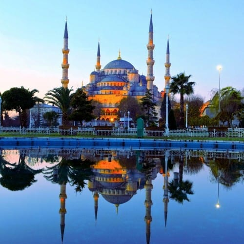 Blue Mosque - Turkey's Beautiful places