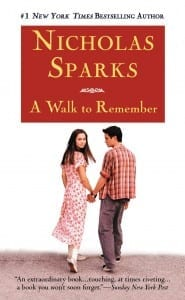 Greatest Romance Novel - A Walk to Remember