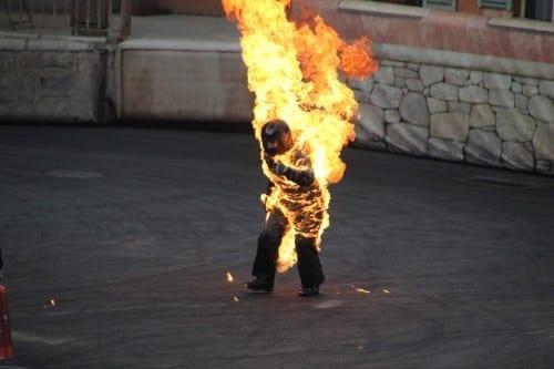 List of 10 Most Dangerous Jobs - 9. Stuntman