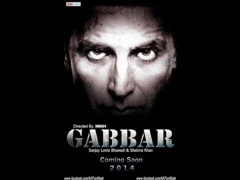 Upcoming Bollywood Movies 2014 - 2015 , Gabbar