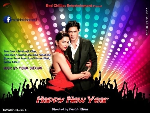 Upcoming Bollywood Movies 2014 - 2015 , Happy New Year
