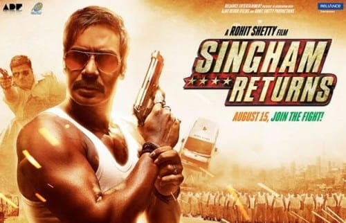 Upcoming Bollywood Movies 2014 - 2015 , Singham Returns