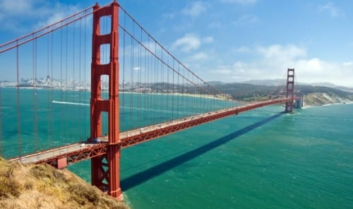 10 Most Weird Suicide Locations -  Golden Gate Bridge, America