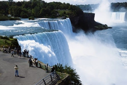 10 Most Weird Suicide Locations - Niagara Falls, America