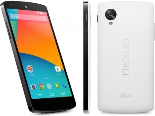 Best 4G Supported Smartphones =LG Nexus 5