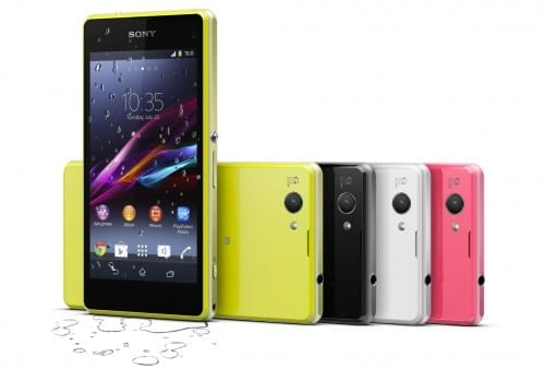 Best 4G Supported Smartphones =- Sony Xperia Z1 Compact