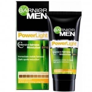 Best Fairness Creams For Men - Garnier Men Powerlight