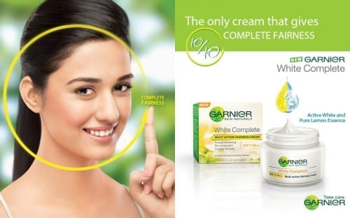 Best Fairness Creams For Women - Garnier White Complete